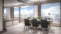 Owners suite onboard a Ritz-Carlton Yacht Collection Azora ship - IMAGE VIA RITZ-CARLTON YACHT COLLECTION