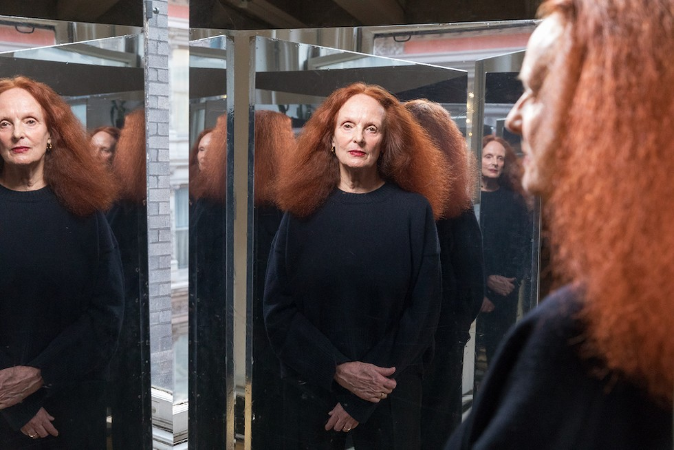 """Grace Coddington, """"Hell Grace Fool of Merry"""" - PHOTO © DUANE MICHALS, COURTESY OF DC MOORE GALLERY, NEW YORK"""