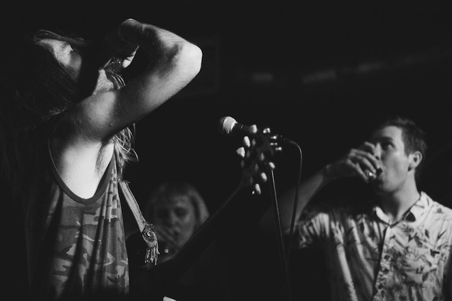 Sea of love: Photos from Guantanamo Baywatch, Wet Nurse and Thee Wilt Chamberlain at Will's Pub - PHOTO BY CHRISTOPHER GARCIA