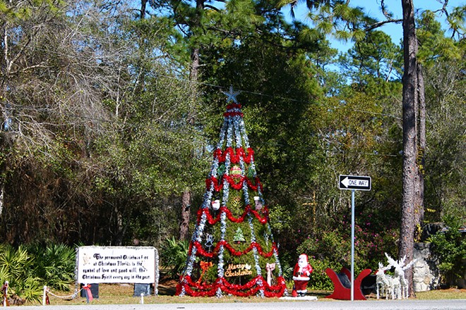 Get your Christmas cards postmarked at the Christmas, Florida post office