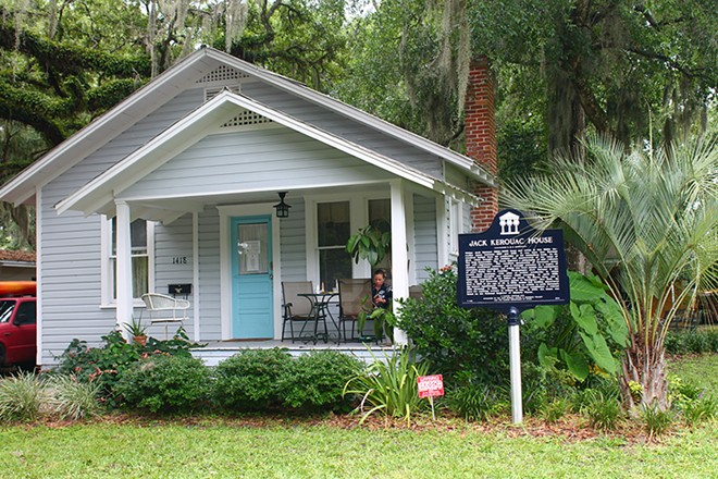 Jack Kerouac wrote Dharma Bums while living in this College Park bungalow.