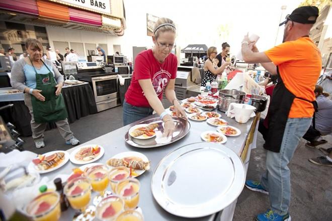 PHOTO COURTESY OF WORLD FOOD CHAMPIONSHIPS