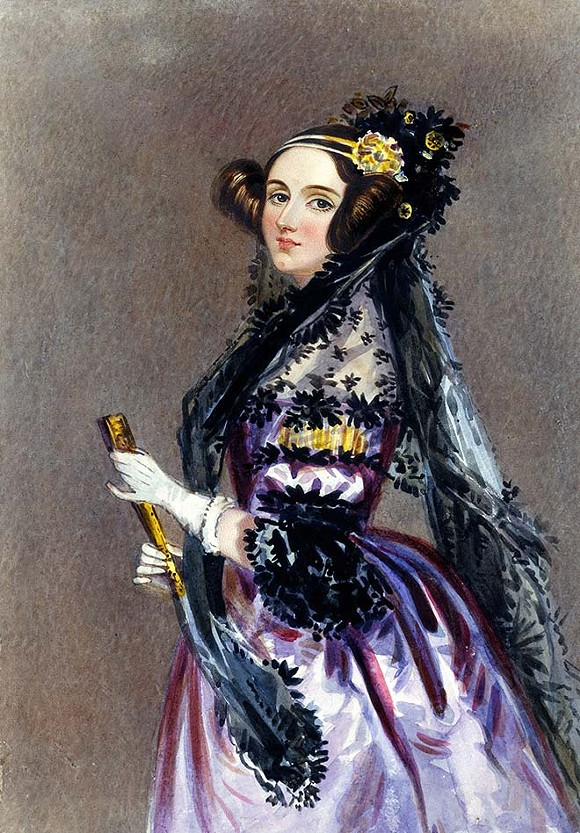 Ada Lovelace - A.E. CHALON