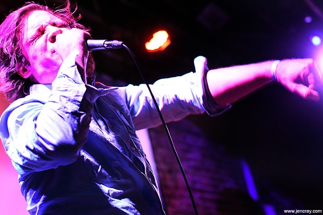 John Maus at the Social - JEN CRAY