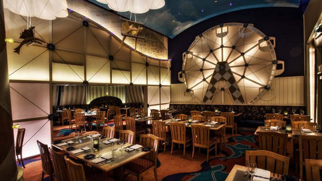 Disney 39 s flying fish caf will close for most of 2016 for Fish restaurant orlando