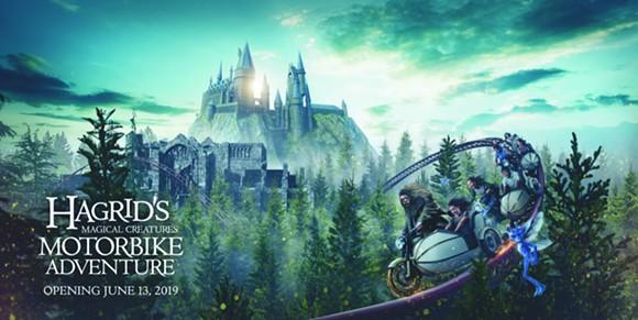 'Hagrid's Magical Creatures Motorbike Adventure' opens at Universal Orlando's June 13. - IMAGE COURTESY UNIVERSAL ORLANDO