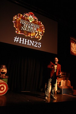 Michael Aiello presents HHN25