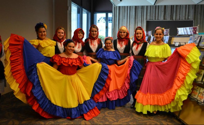 PHOTO VIA HUELLAS DE COLOMBIA FOLKDANCES