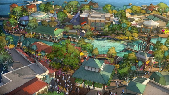 A rendering of what Disney has in store for Downtown Disney, er Disney Springs.