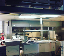 """@nova_orlando: We will be featuring a bricked in """"show"""" kitchen so everyone can watch the chefs at work and smell the glorious flavors melding together @nova_orlando #construction #buildout - PHOTO VIA NOVA ON INSTAGRAM"""