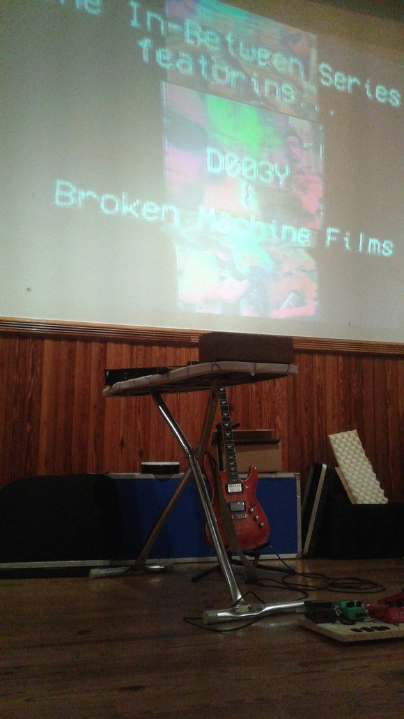 D003Y and Broken Machine Films at the In-Between Series (Gallery at Avalon Island)