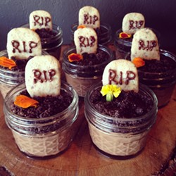 Some Halloween treats from P Is for Pie - IMAGE VIA P IS FOR PIE