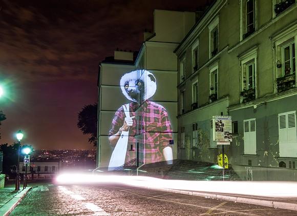 """""""Lemur of Montmartre"""" - JULIEN NONNON"""