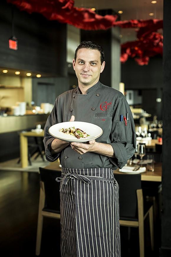 Capa Chef Tim Dacey - ROB BARTLETT