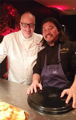 Top Chefs Tony Mantuano and Edward Lee