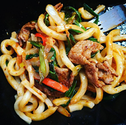 Korean beef udon at Bento Café - PHOTO BY JESSICA BRYCE YOUNG