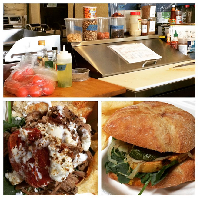 Mexican torta and veggie verdura sandwiches at This N That Eats - PHOTO BY JESSICA BRYCE YOUNG