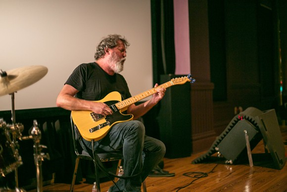 Bill Orcutt at the Gallery at Avalon Island - LIV JONES