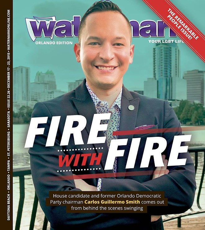 The cover of the Dec. 17 issue of Watermark
