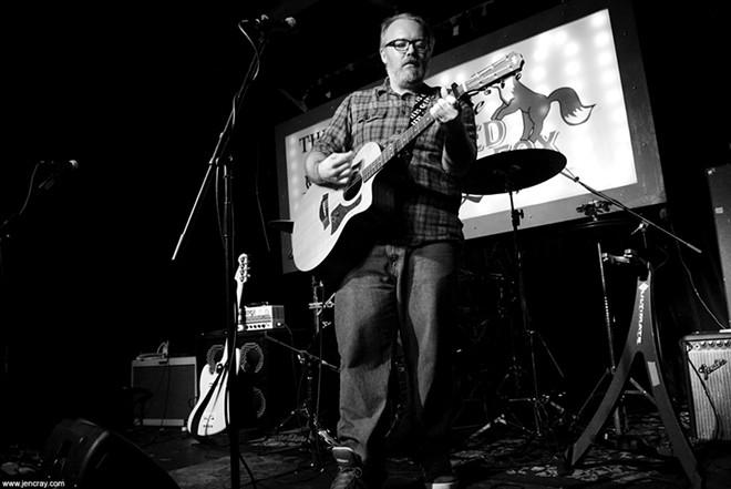 Jason Guy Smiley at Will's Pub - JEN CRAY