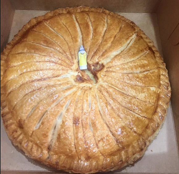 Yes, that's a tiny Blessed Virgin right there in the middle. - PHOTO COURTESY BENJAMIN FRENCH BAKERY VIA FACEBOOK