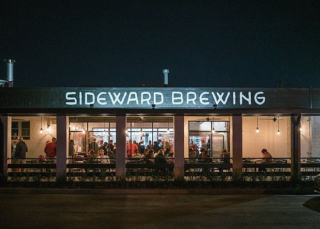 PHOTO BY JAMES HAND VIA SIDEWARD BREWING COMPANY