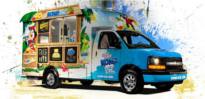IMAGE COURTESY KONA ICE