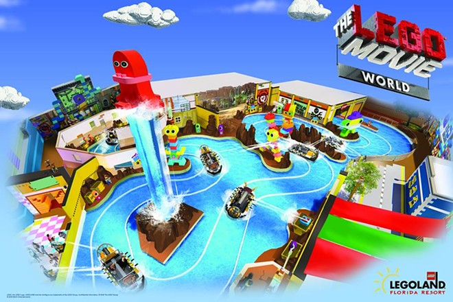 CONCEPT ART VIA LEGOLAND FLORIDA