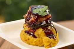 Cinnamon Slow Roasted Pork Belly at the Seven Seas Food Festival - PHOTO VIA SEAWORLD ORLANDO