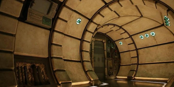 A photo of the final queue section leading into the Millennium Falcon ride. - IMAGE VIA DISNEY