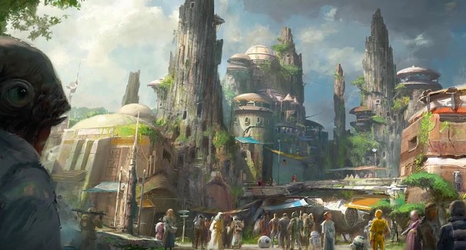 Star Wars land coming to Disney's Hollywood Studios - PHOTO VIA DISNEY