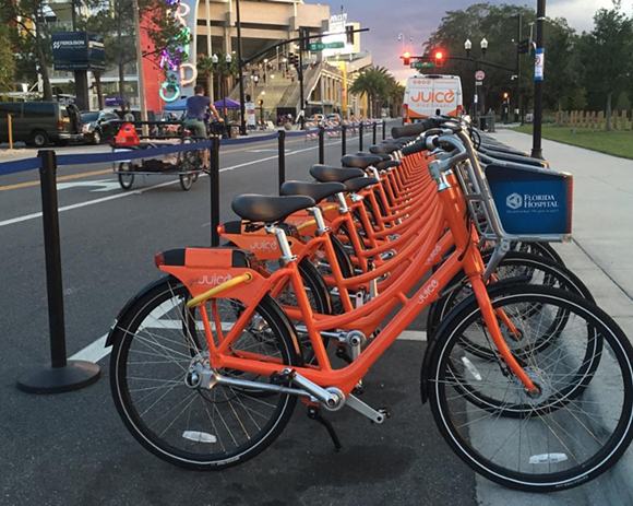 PHOTO VIA JUICE BIKE SHARE/INSTAGRAM