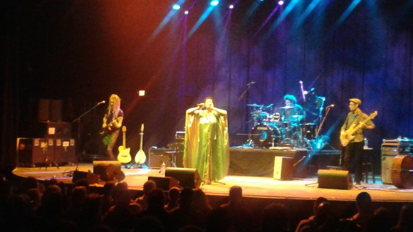 Lisa Fischer and Grand Baton at the Plaza Live
