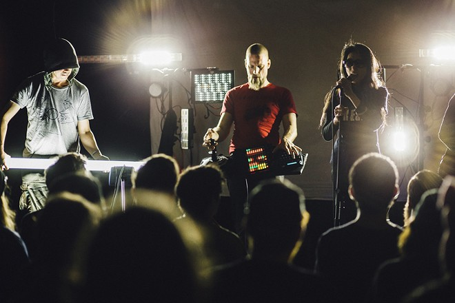 Hijokaiden, Atsuhiro Ito and Jeff Carey at the MultipleTap Tour (Will's Pub) - JAMES DECHERT