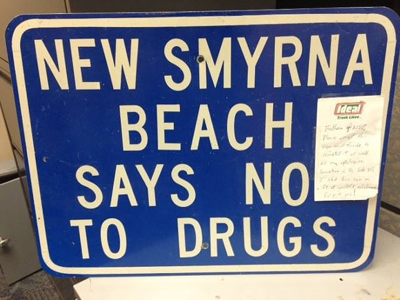 PHOTO VIA NEW SMYRNA BEACH POLICE DEPARTMENT/FACEBOOK