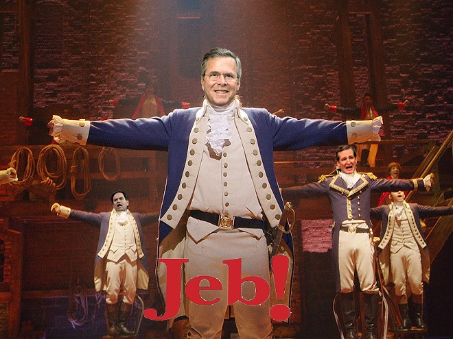 """PHOTO COURTESY OF """"JEB! THE MUSICAL"""""""