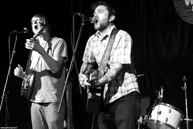 Jeff Shepherd and Marco Sassman at Will's Pub - JEN CRAY