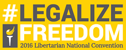 """The Libertarian Party National Convention will host """"Legalize Freedom"""" themed convention in Orlando. - PHOTO VIA LIBERTARIAN NATIONAL COMMITTEE"""