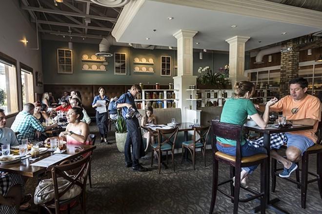 Cask & Larder main dining room - ROB BARTLETT