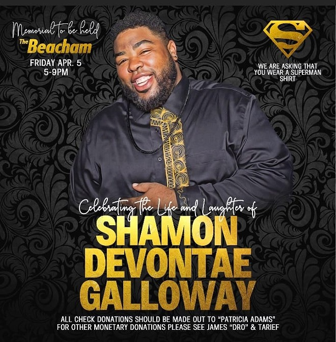 Shamon Galloway memorial