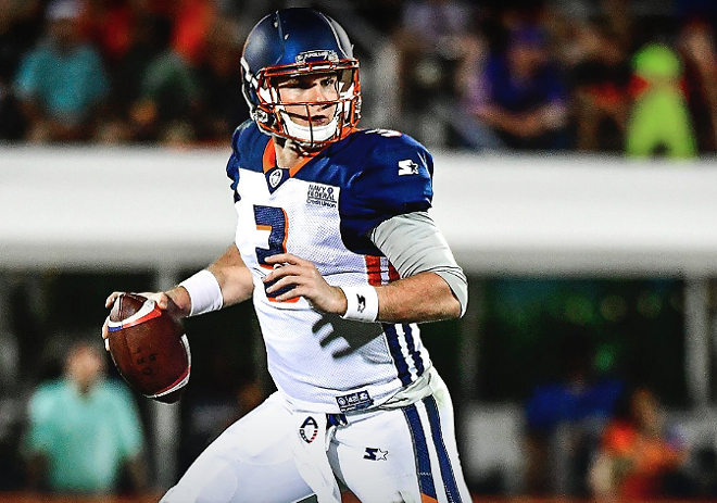 Cleveland Browns Sign Former Orlando Apollos Quarterback Garrett Gilbert Blogs
