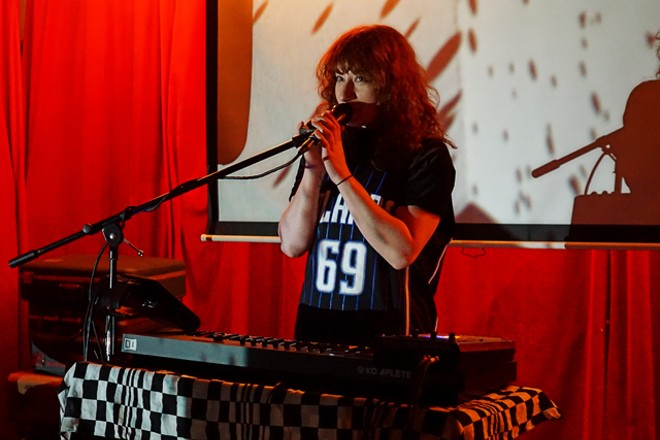 Emily Reo at Stardust Video & Coffee - JIM LEATHERMAN