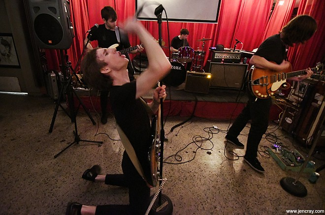 The Spoon Dogs at Stardust Video & Coffee - JEN CRAY
