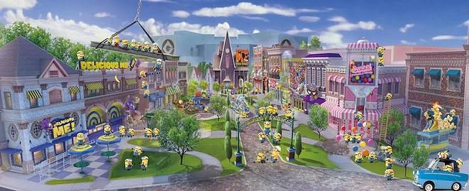 Minion Park at Universal Studios Singapore - PHOTO VIA RESORTS WORLD SENTOSA SINGAPORE