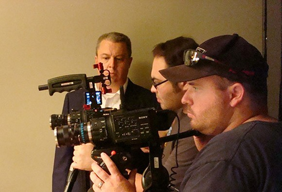 TL Westgate, Jay De Los Santos and Corey Steib scramble to make an entire film in just two days - PHOTO BY CAMERON MEIER