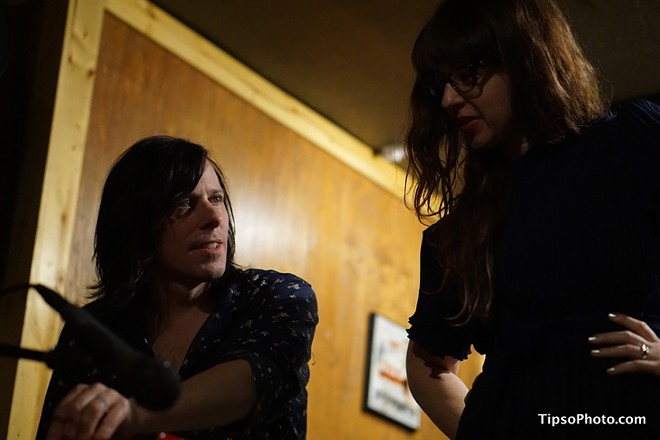 Ken Stringfellow and Tierney Tough at Lil Indies - MICHAEL LOTHROP