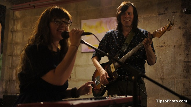 Tierney Tough and Ken Stringfellow at Lil Indies - MICHAEL LOTHROP