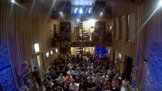 Stage view from the Timucua Arts White House