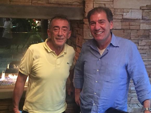 Antonio Martino (left) and Rosario Spagnolo (right)