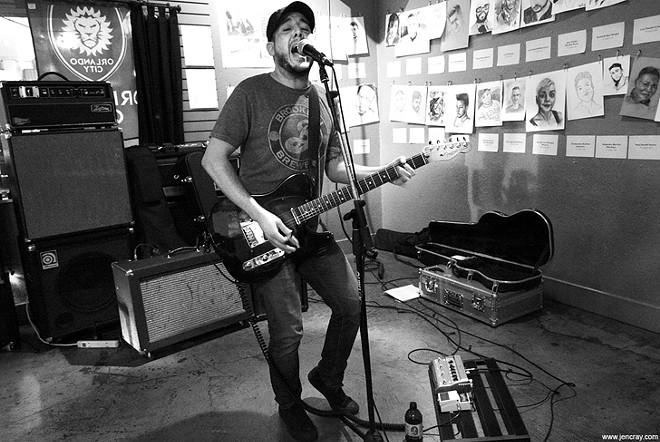 Mikey Cortes at the Falcon - JEN CRAY